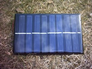 4v250ma Monocrystalline Resin Solar Panel